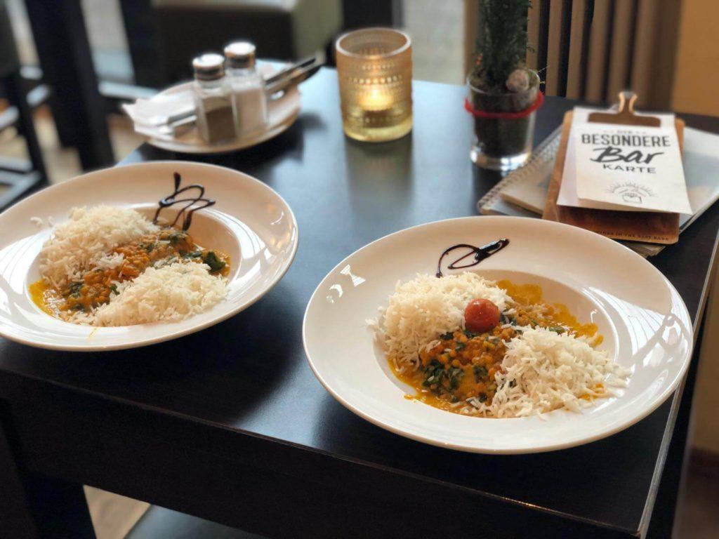 Treibhaus Hannover Curry vegan